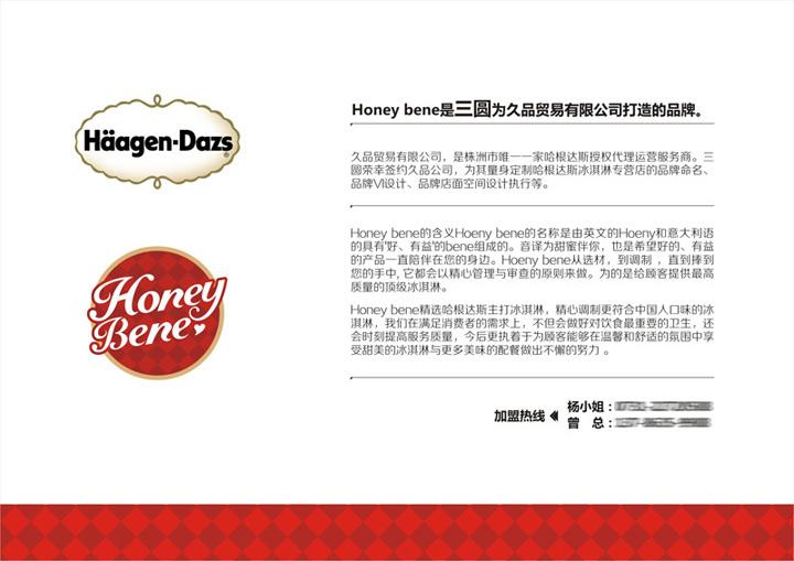 哈根�_斯株洲直�I店Hoeny bene品牌命名