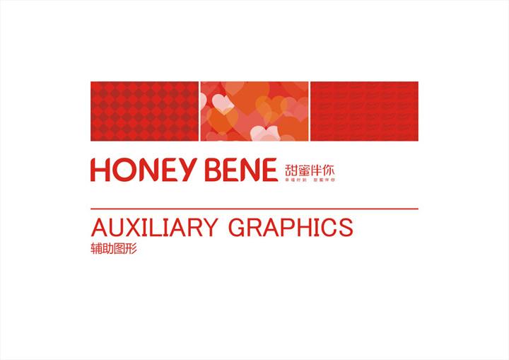 哈根达斯株洲直营店Hoeny bene辅助图形设计